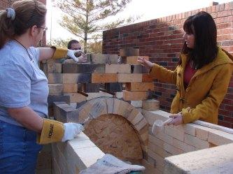 Building the train kiln