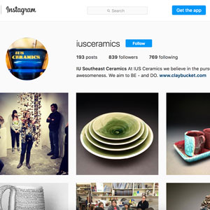 IUS Ceramics Instagram thumbnail