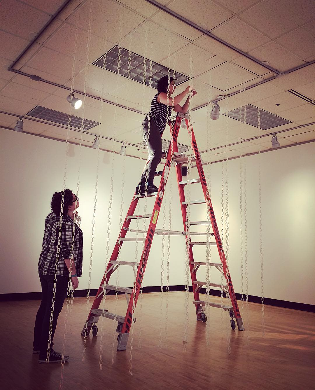 Installing Boundless with Lauren Herzak-Bauman, Blake Williams, and Katy Ragsdale