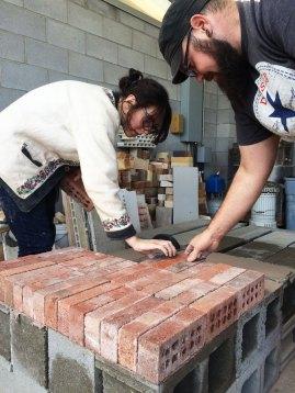 Soda Kiln - laying floor