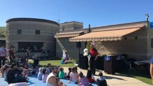 magic and dance parties in Calabasas at the Egg Hunt Trail