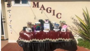 magic decorations for the birthday party