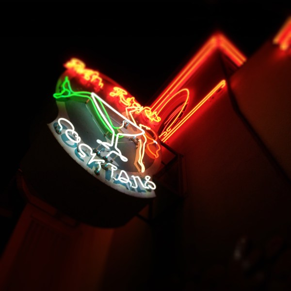 Mr. Rick's neon sign