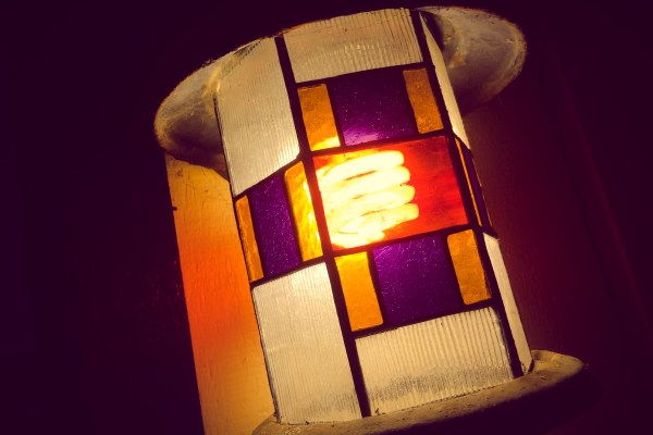 stained glass porch light