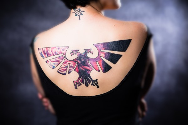 warhammer 40k tattoo