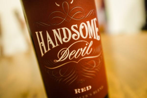 handsome devil wine bottle | photograph by Brian J. Matis