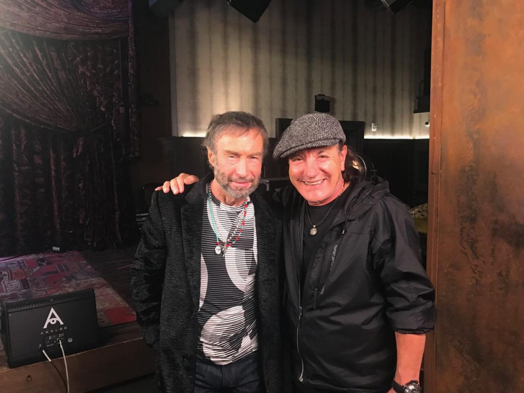 Brian Johnson with Paul Rodgers