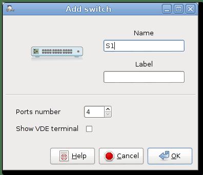 add switch dialog box