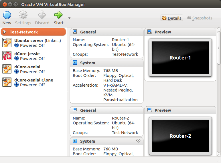 How to emulate a network using VirtualBox | Open-Source