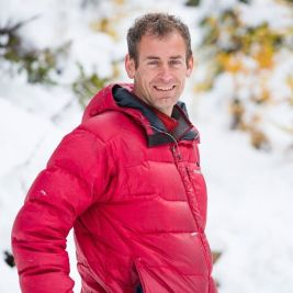 Brian Merry on the second day leading his Lake O'Hara tour in the Canadian Rockies.