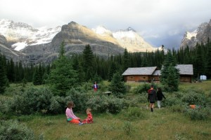 Elizabeth Parker Hut, our home during the Lake O'Hara tour. Photo courtesy of the Alpine Club of Canada