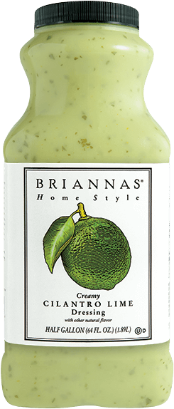 Creamy Cilantro Lime BRIANNAS Salad Dressings