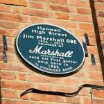 Unveiling of Jim Marshall's Plaque
