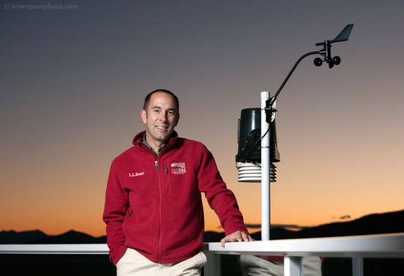 Mount Washington Observatory's Executive Director, Scot Henley. Photo by Brian Post.