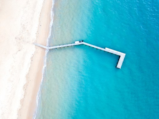Collins Bay Portsea - Aerial Artwork
