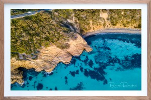 Hidden Cove - Aerial Artwork