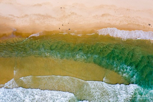 Sand Bar - Aerial Artwork
