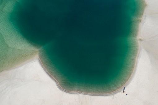 Swimming Hole - Aerial Art Work