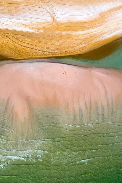 Bay Tide - Aerial Artwork