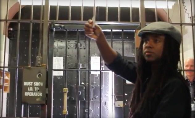 Entering Folsom Prison