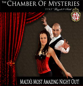 Chamber Of Mysteries Dinner SHow Malta