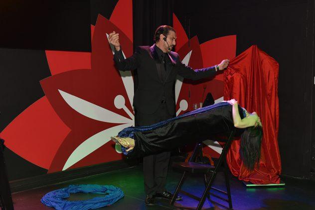 Brian Role Lola Palmer Magician Malta