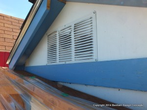 Vent your chicken coop to keep it smelling fresh
