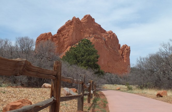Fence in Foreground at the Garden of The Gods | Photography for sale