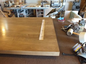 Mortised table top
