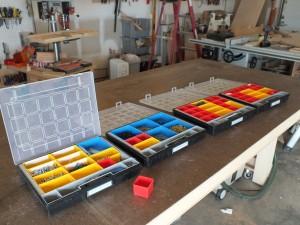 Sortimo style modular storage bins