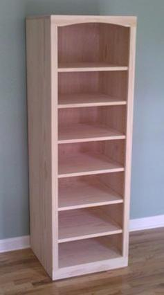 Shaker Pine Bookcase