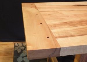 Building a Maple Trestle Table | Brian Benham