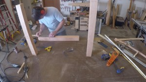 Layout Mortise and tenon joints