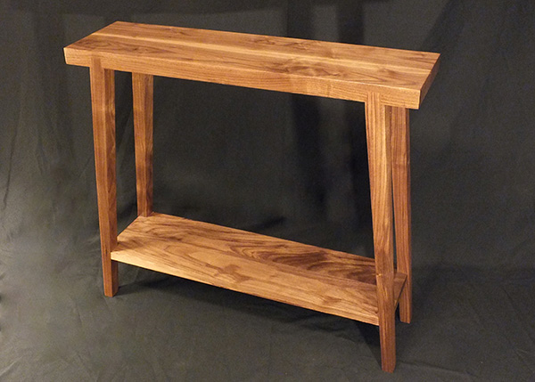 Walnut table insperation for furniture design