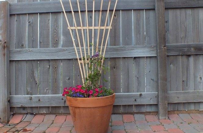 How to build a garden trellis