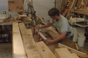 Glue up of legs
