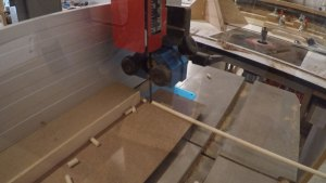zero clearance insert for bandsaw