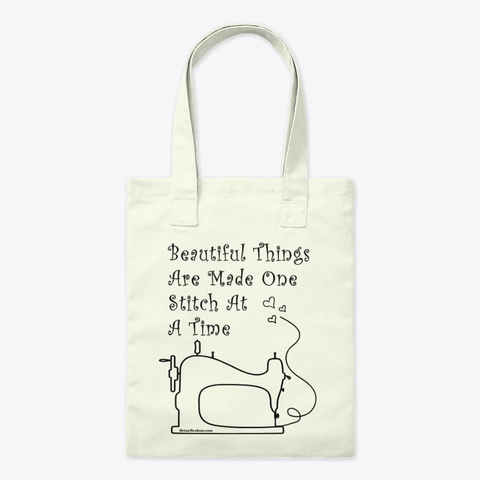 Sewing Tote bag - Sewing quotes