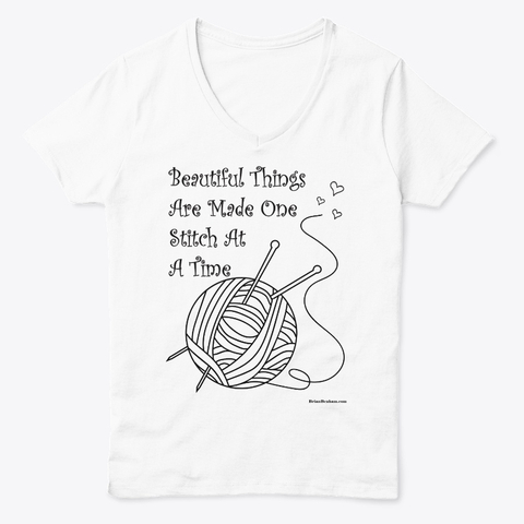 Sewing and Knitting quotes on tee shirts