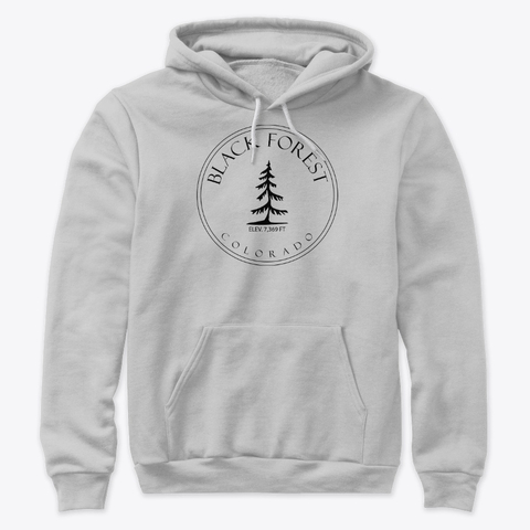 Pull over hoodie - Black Forest Colorado