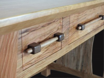 James Krenov Style Wooden Drawer pull and handle