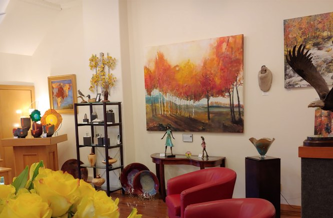 Inside The Hunter Wolff Gallery