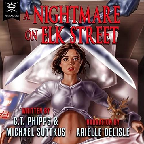 A Nightmare on Elk Street Audiobook Cover