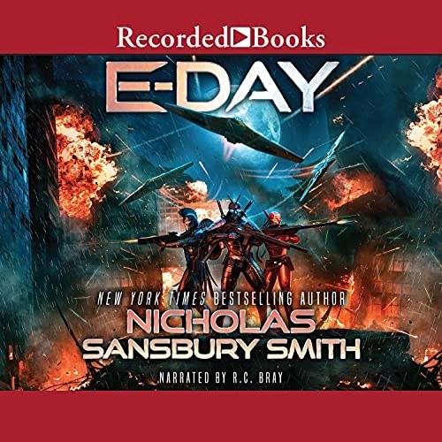 E-Day Audiobook Cover
