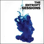 The Entropy Sessions Audiobook Cover (a man's face in profile with smoke and/or water mixed with it)