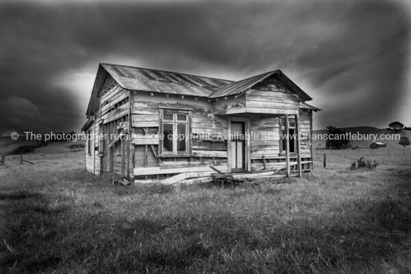 Derelict home.