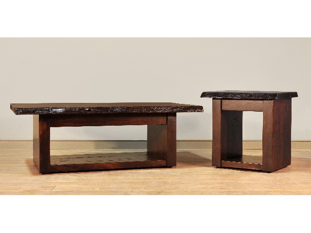 Live Edge Occasional Tables