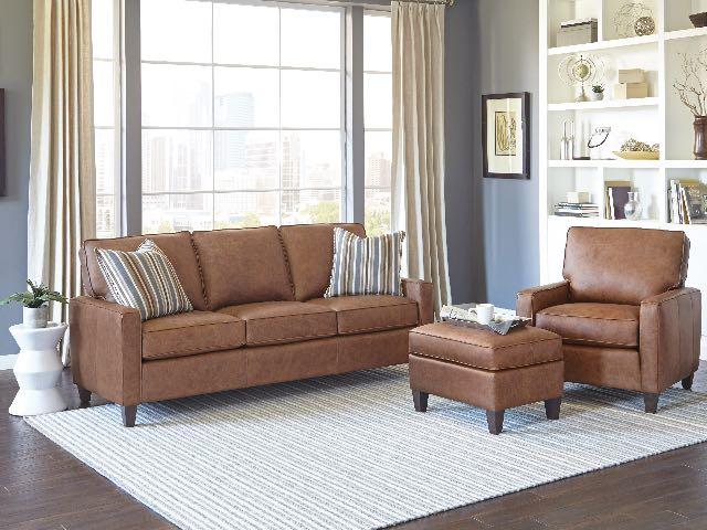 242 leather sofa