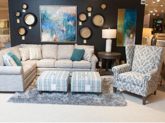 366 Sectional & 505 Wingback at Market