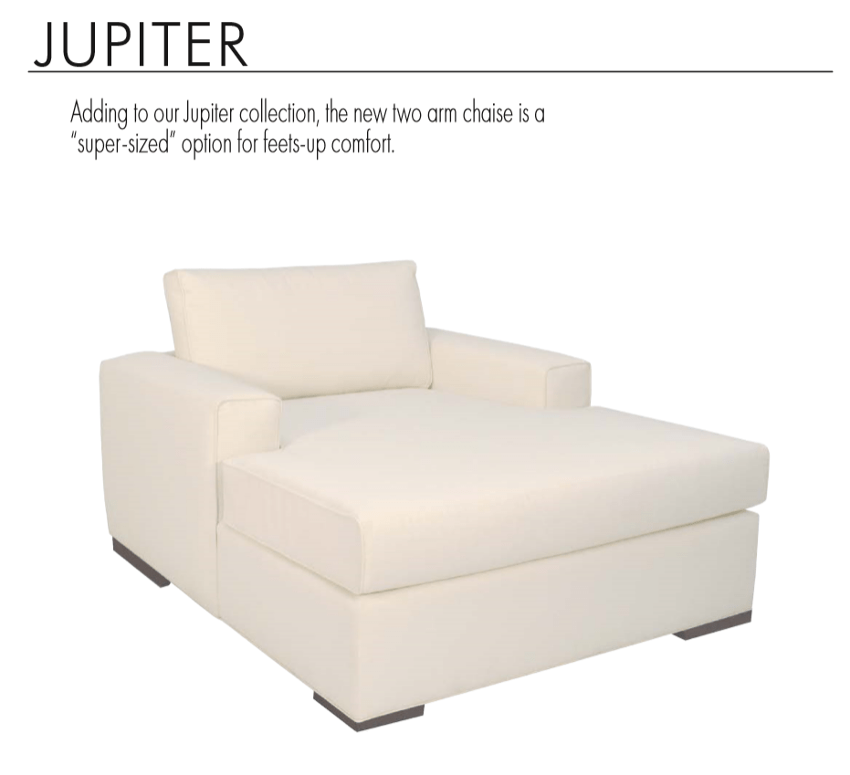 Jupiter 2 Arm Chaise